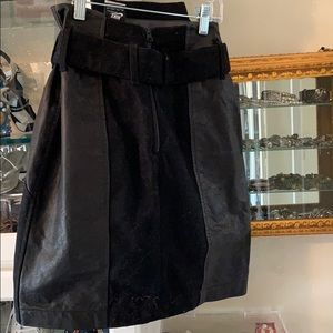 Nike Leather and will skirt size extra small zero